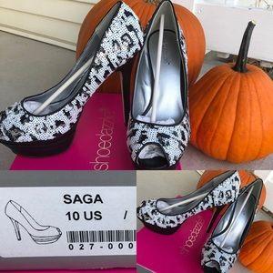 Women's Shoedazzle Heel Shoes
